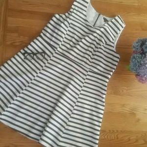 ellos plus size striped sleeveless dress 18W